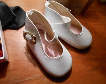"""Mary Jane Doll Shoes>> Fit Alex Princess Mary-Ideal Shirley Temple l> 2-1/2"""" x 1-1/4"""""""