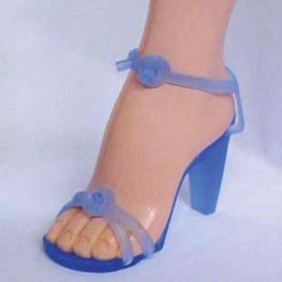 Black Doll Shoes Cissy Revlon Dollikin High Heel Fashion Dolls Reproduction