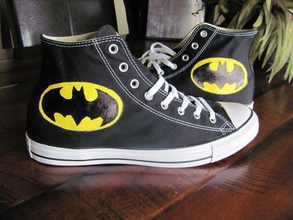 Kid's Superman Converse Hi Tops