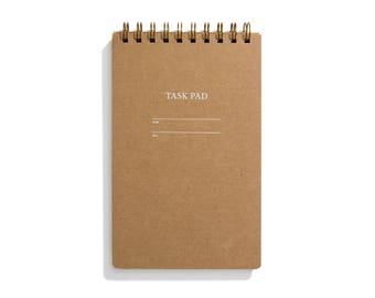 Task Pad Notebook - Kraft