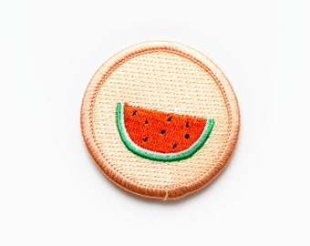 Iron-on Watermelon Patch