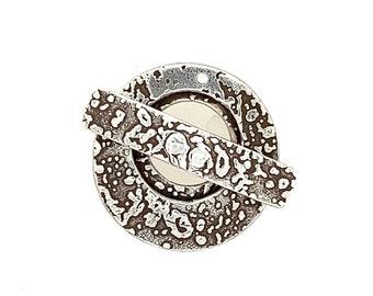 Sterling Silver Lunar Toggle