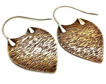Bronze Boho Style Earring