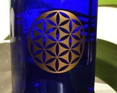 Seed of life SET of 2 sacred geometry copper vinyl decal