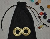 Ouroboros infinity snake rune dice bag