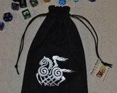 Viking Sleipnir goddess rune dice bag