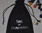 BAG of DEVOURING Dungeons and Dragons dice bag