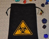 BIOHAZARD Dungeons and Dragons game dice bag