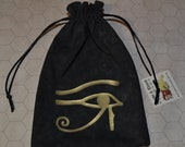 Egyptian Eye of Horus black bag