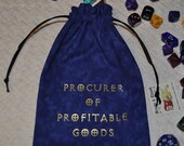 ROGUE thief Dungeons and Dragons dice bag