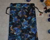 DRUID sea turtles Dungeons and Dragons game dice bag