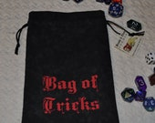 BAG of TRICKS Dungeons and Dragons game dice