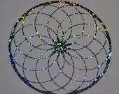 Torus wormhole confetti vinyl decal