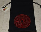Chartres cathedral labyrinth sacred geometry bag