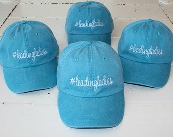 Custom Hat, Adams Baseball Caps, Monogrammed Hat Custom Embroidery