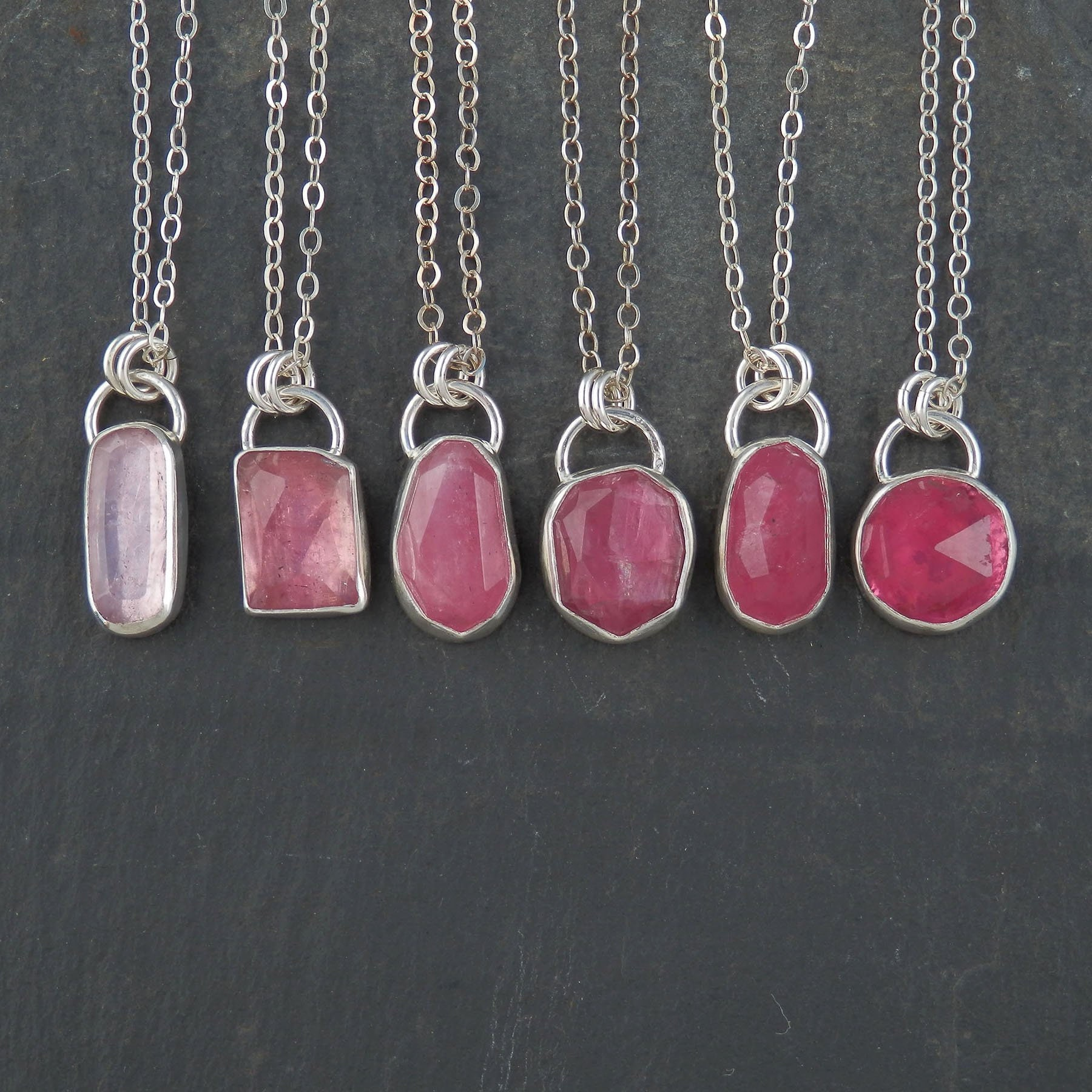 pink tourmaline pendant rose cut tourmaline pink. Black Bedroom Furniture Sets. Home Design Ideas