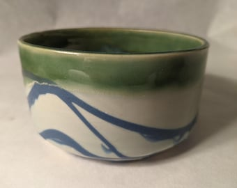 The Mini Planter in Blue and Green