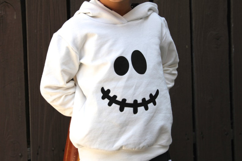 74a21d74fd4 Ghost Hoodie ONLY Toddler Ghost Costume Baby Ghost Costume