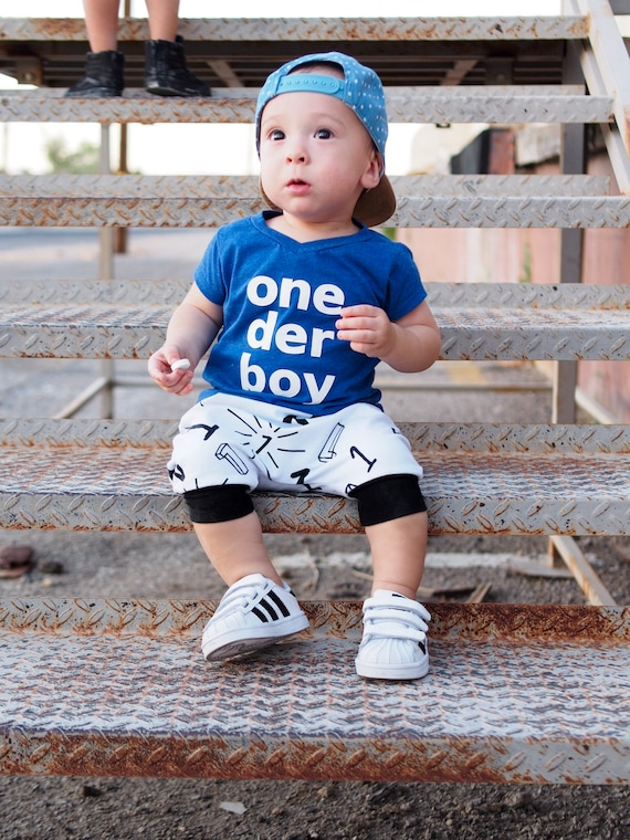 One Der Boy 1st Birthday SHIRT Only First Top Baby