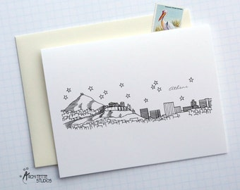 Athens, Greece - Europe - Instant Download Printable Art - City Skyline Series