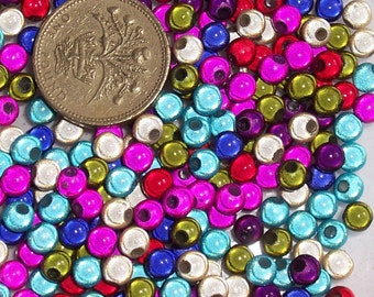 300 x 5mm Multi-Coloured Miracle Beads