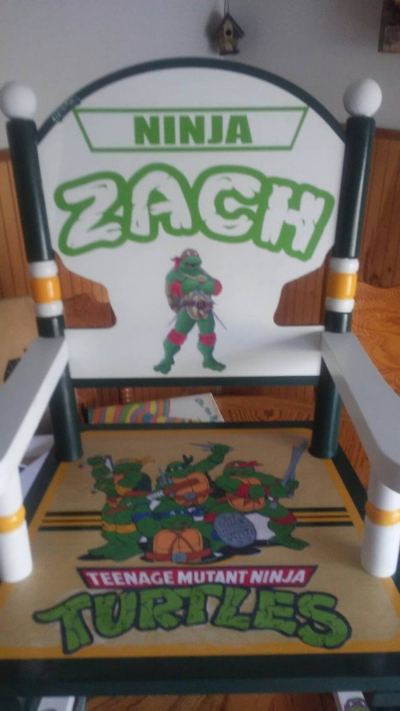 Teenage Mutant Ninja Turtle Personalized Rocking Chair