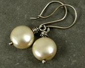 Pearl Earrings, Budget Friendly Earrings, Affordable Gift, Holiday Jewelry Gifts for Her