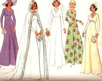88fb4c021ce Vintage Simplicity 7284 Misses  Bridal and Bridesmaid Dress