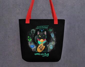 Unlucky cat - tote bag
