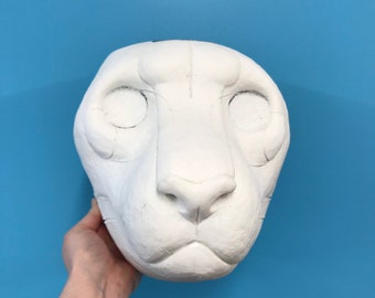 CLEARANCE #1 DIY cheetah resin mask. 5 OFF