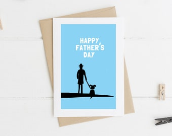 Happy Father's Day Card for Dog Lover