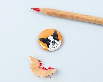 Boston Terrier Magnet -  Dog Magnet - Terrier Magnet - SECONDS SALE