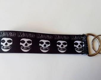 Key strap Ribbon - band MISFITS - Punk
