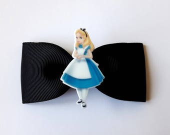♥ Barrette hair clip to the Wonderland Alice ♥ ♥