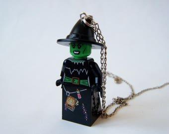 Pendant - Witch Lego minifigure