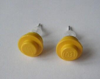 Earrings Lego yellow ♥ ♥ ♥