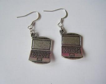 Earrings computers ♥ notebook ♥