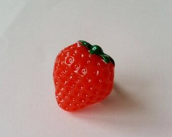 Big Red Strawberry ring