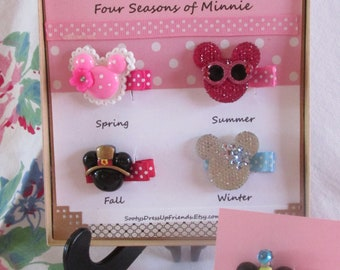 A Mouse For Four Seasons~ HAIR CLIP SET