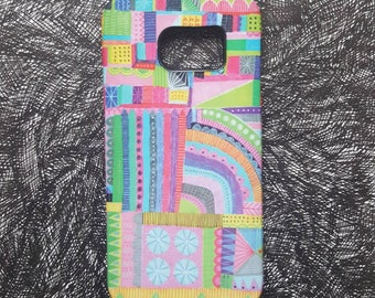 Rainbow - unique artist designed mobile phone/cell phone cover/case for iPhone and Samsung Galaxy