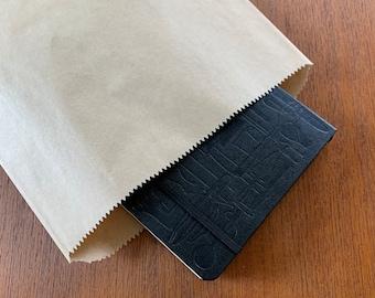 50 Paper Kraft flat bags