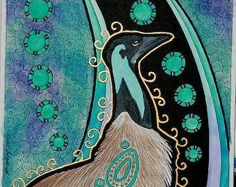 Original - Emu as Totem