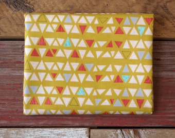 MODA Ninja Cookies Yardage Geometric Triangles Yellow 30543 16 Chartreuse Jenn Ski
