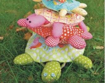 Turtle Tower Pattern Jen Kingwell Designs Collective, 5 Sizes, Louise Papas