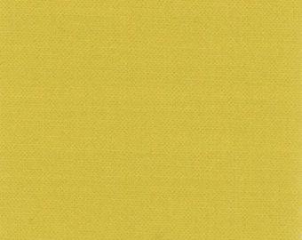 "Moda Bella Solids Maize Gold 9900 273 Yardage, Cotton 45"""