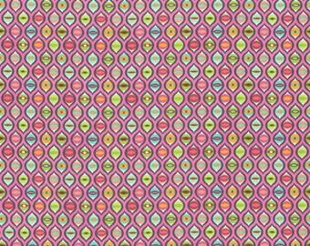 FREE SPIRIT Tabby Road PWTP095-MARM Marmalade Cat Eyes by Tula Pink