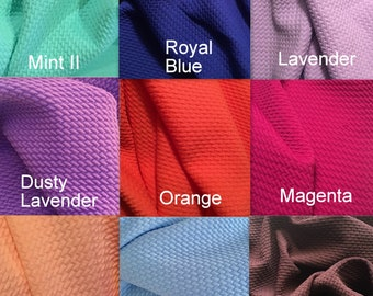 6586d3b5083 Bullet Textured Solid Colors Liverpool Poly/Lycra/Spandex Stretch Knit  Fabric By The Yard