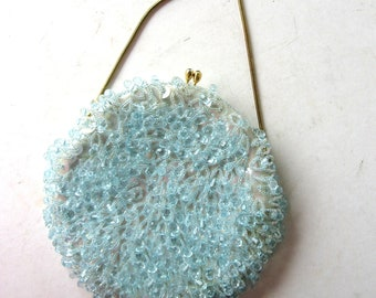 Evening Bag Beads and Sequins Vintage