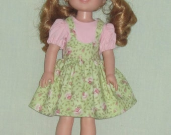 Slippers fits Wellie Wishers Doll 14.5 Inch Doll Nightgown