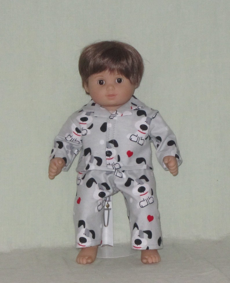 a2a048c4d 15 inch Doll Pajamas fits American Girl Bitty Baby Twin Boy